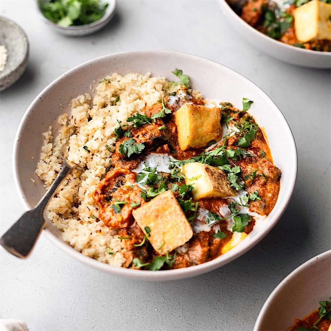 Vegan Tikka Masala with Cauliflower Rice
