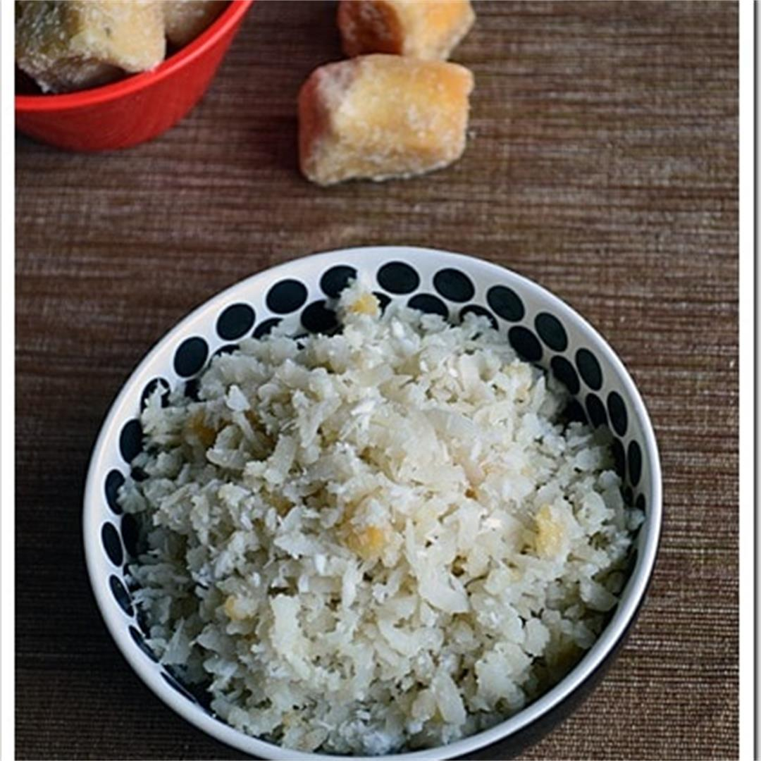 Sweet Beaten Rice / Bajil Bella Tarai