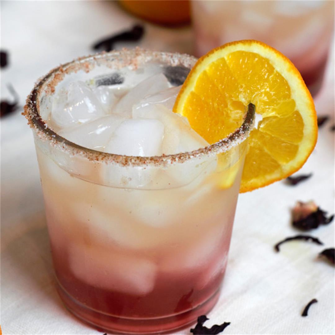 Hibiscus Orange Margarita Recipe