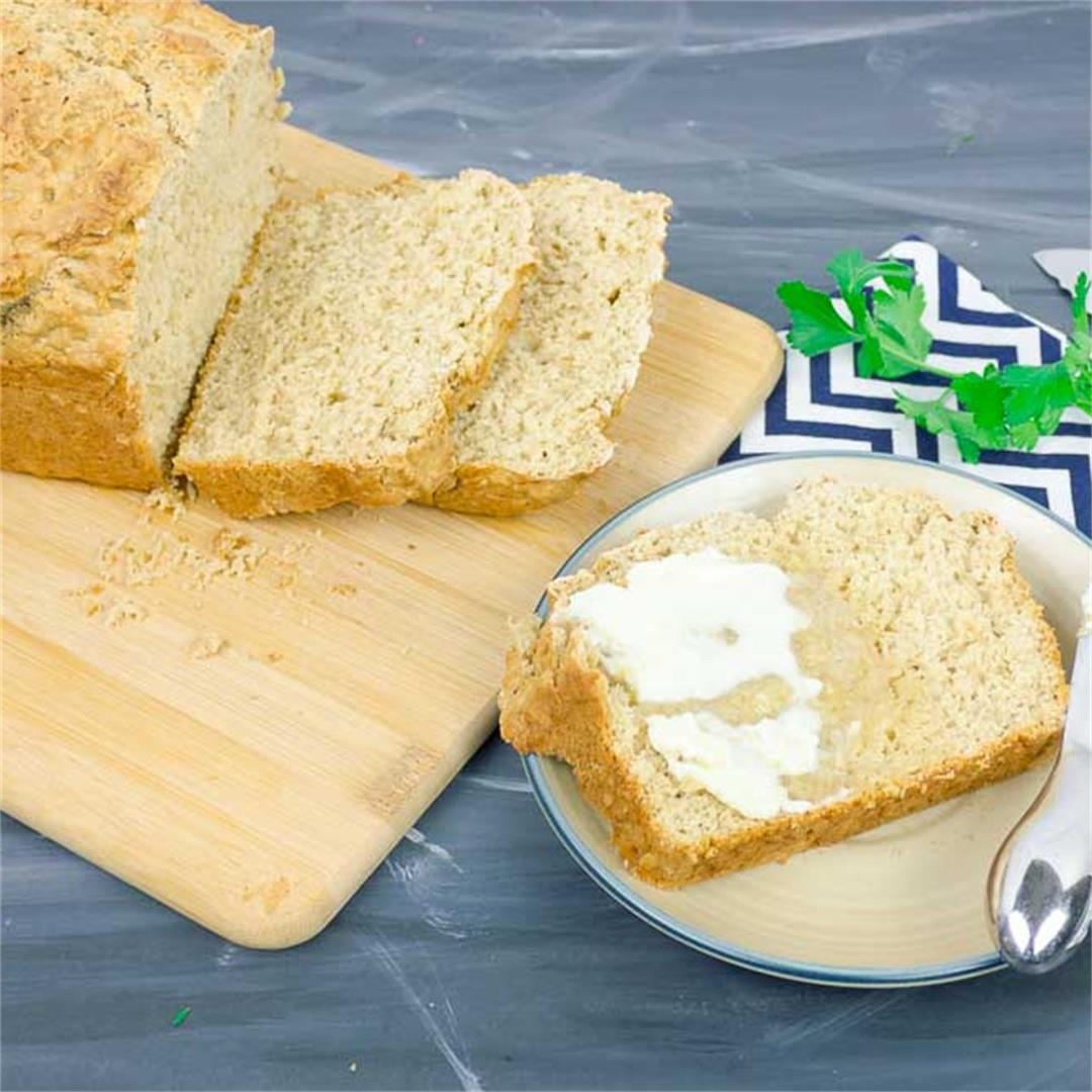Guinness Beer Bread - serve warm with a smear of melty butter!