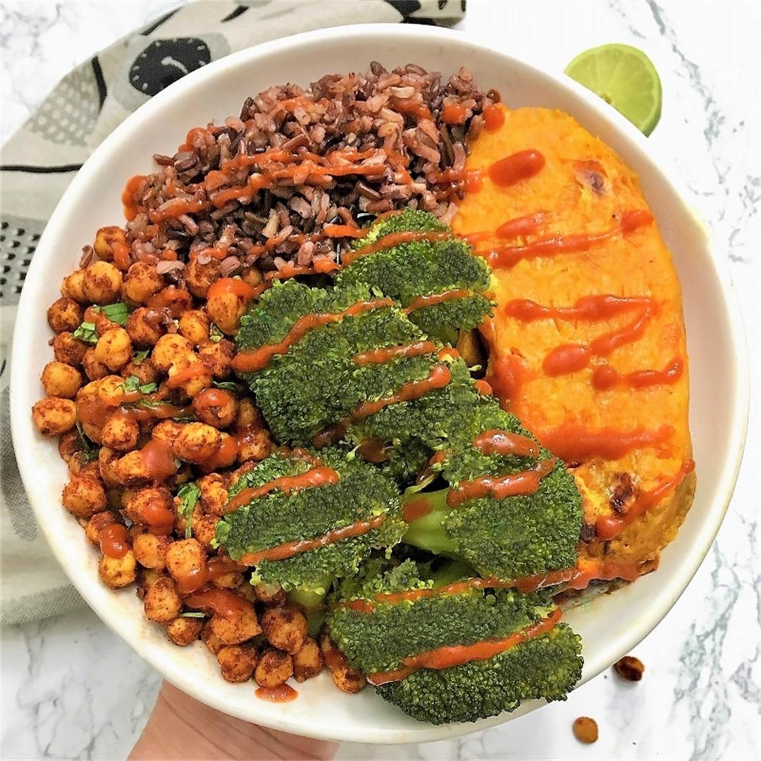 Chili Lime Chickpea Buddha Bowl