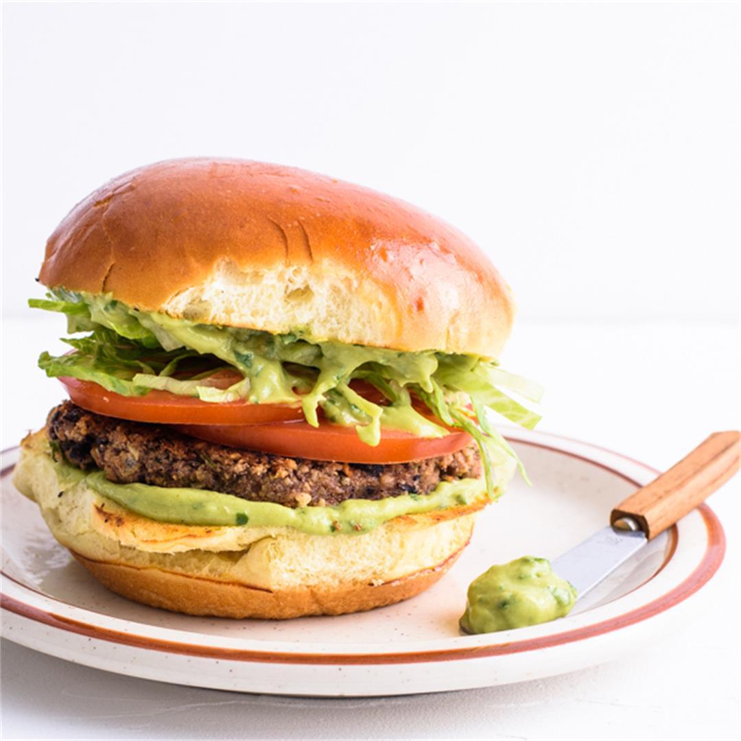Cilantro-Cumin Black Bean Burgers
