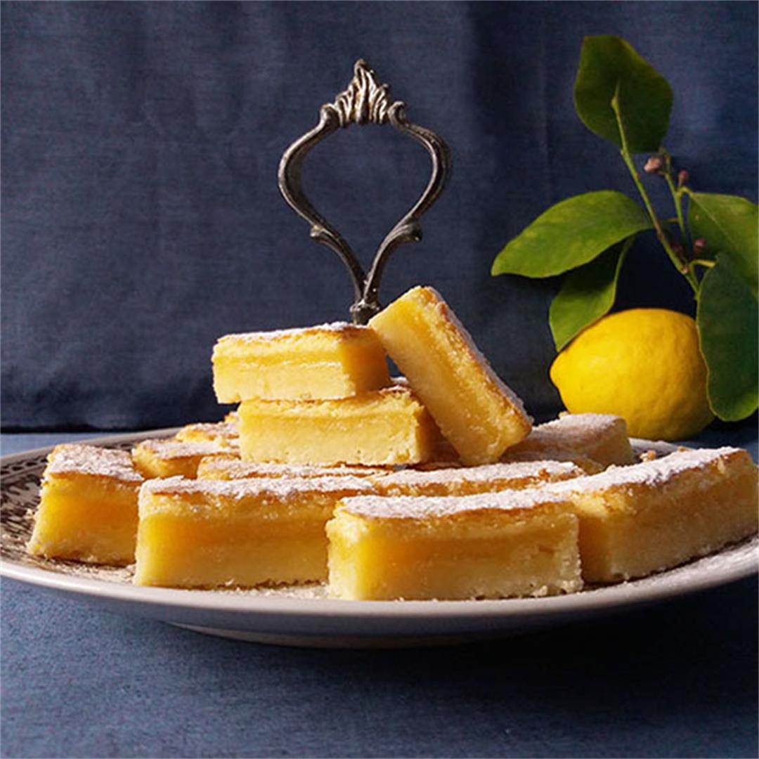 Tea Time Lemon Bars