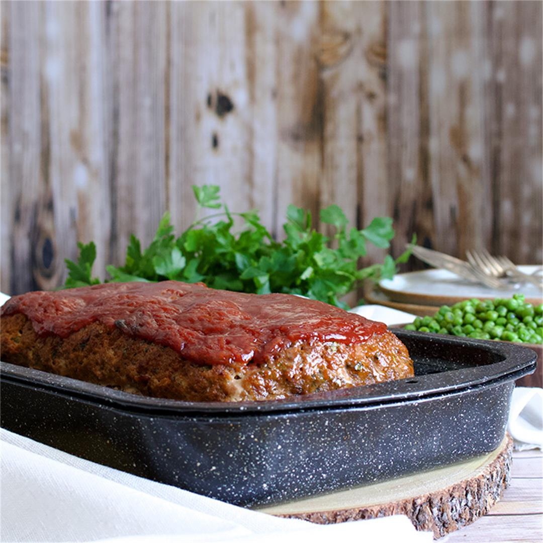 Classic Meatloaf {with Italian Sausage}
