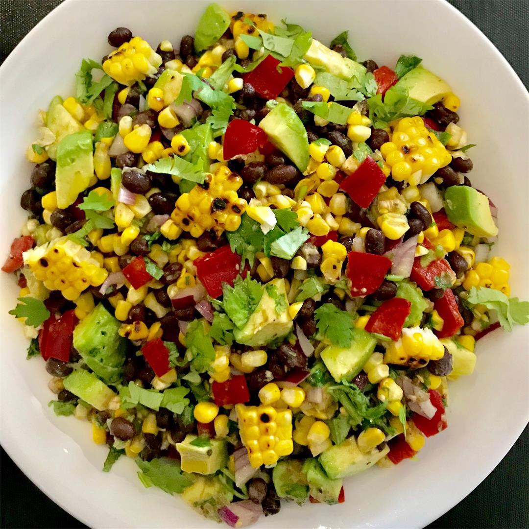 Charred Corn and Black Bean Salad
