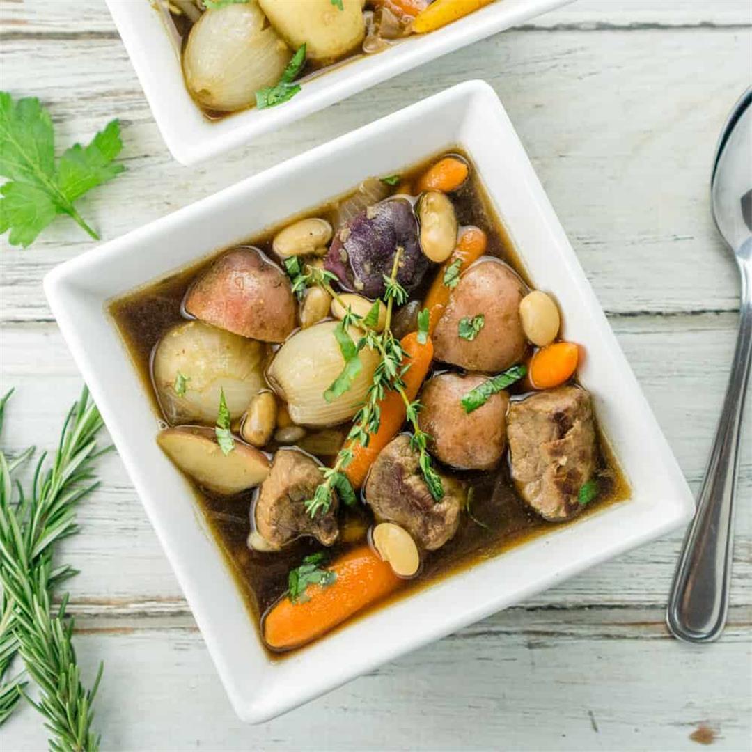 Irish Beef Stew with White Beans