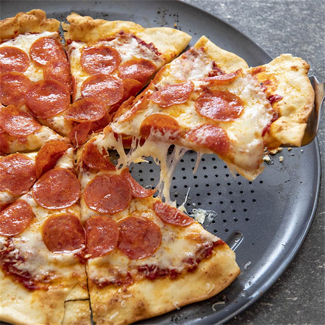 Favorite Thin Crust Pizza