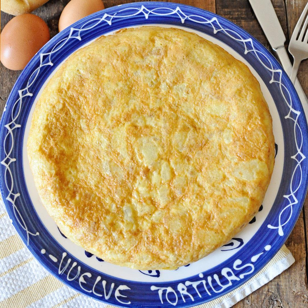 The Authentic Spanish Tortilla de Patatas Potato Omelette