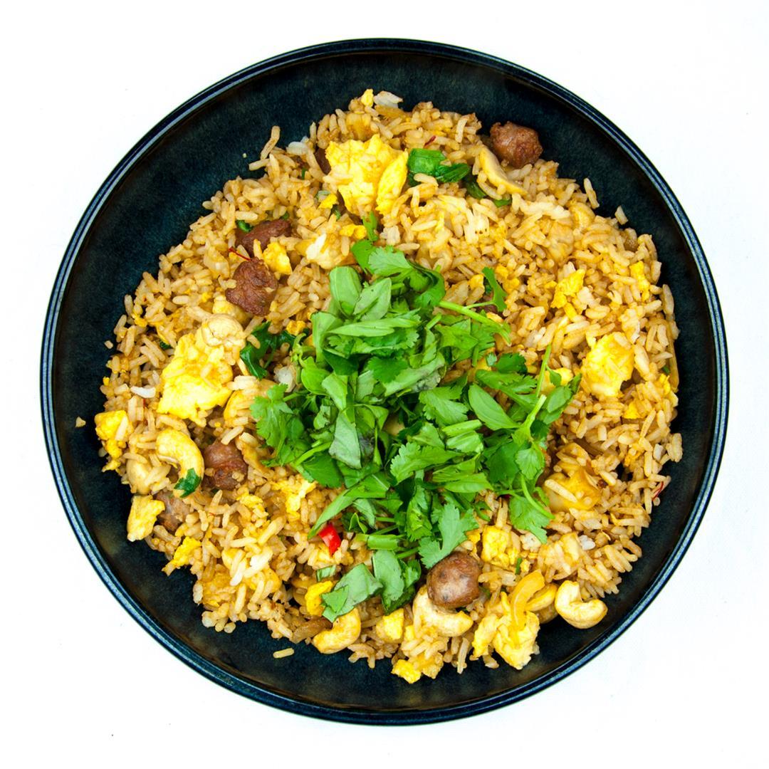 Thai Style Sausage Fried Rice