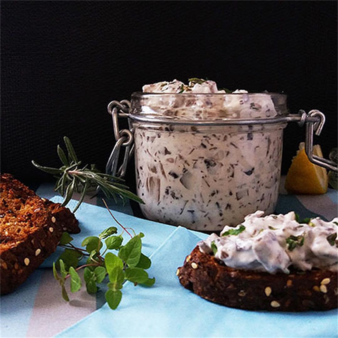 Herbed Mushroom Spread Recipe