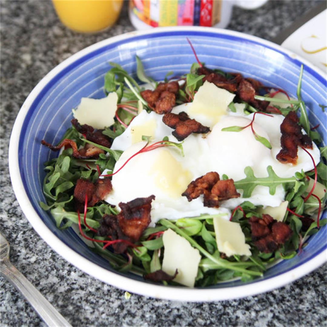 Bacon, Egg and Cheese Breakfast Salad
