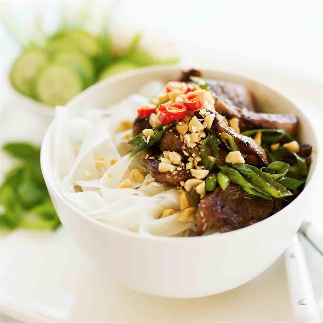 Vietnamese Pork Noodles