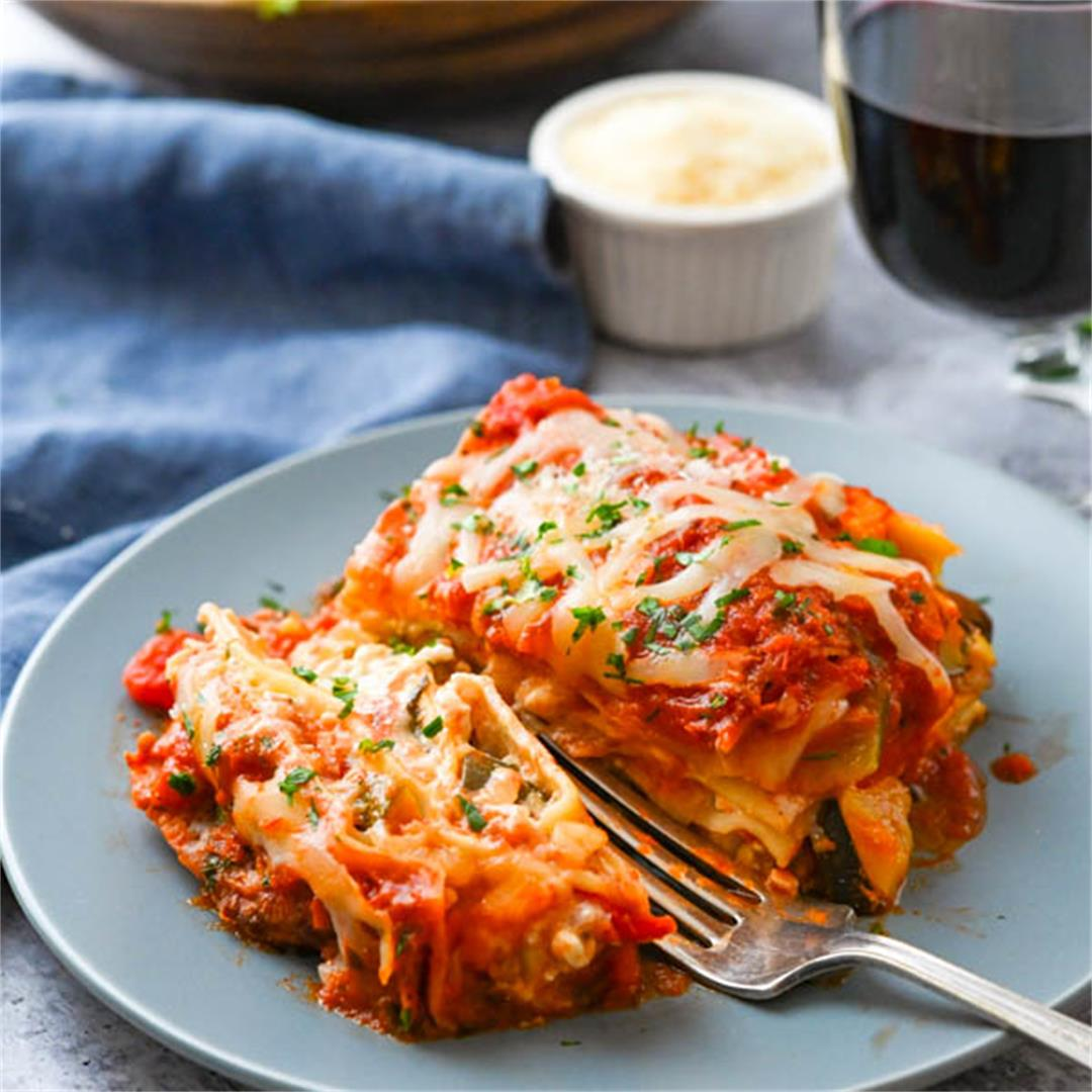 Vegetable Ratatouille Lasagna