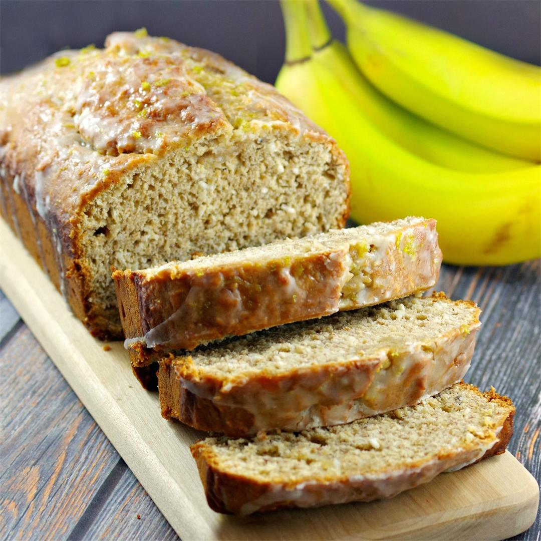 Easy Healthy Tropical Banana Bread