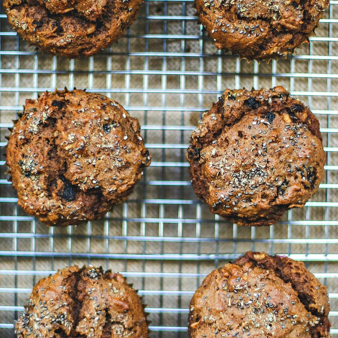 Raisin Bran Muffins {Whole Wheat Muffins}