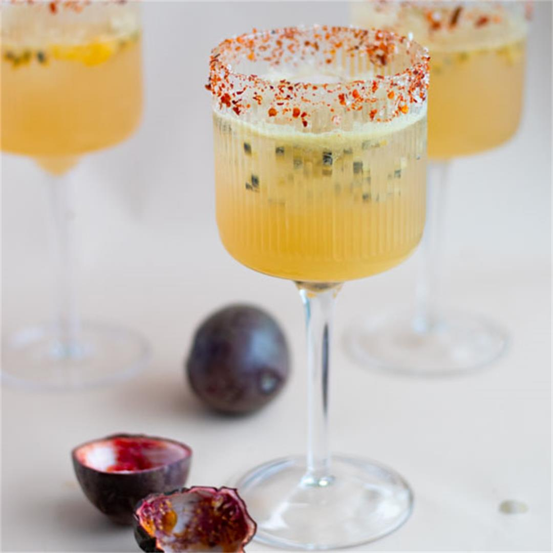 Kombucha Passion Fruit Spritz