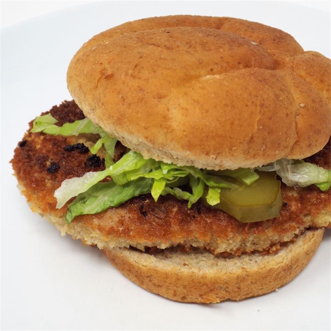 Crispy Pork Tenderloin Sandwich