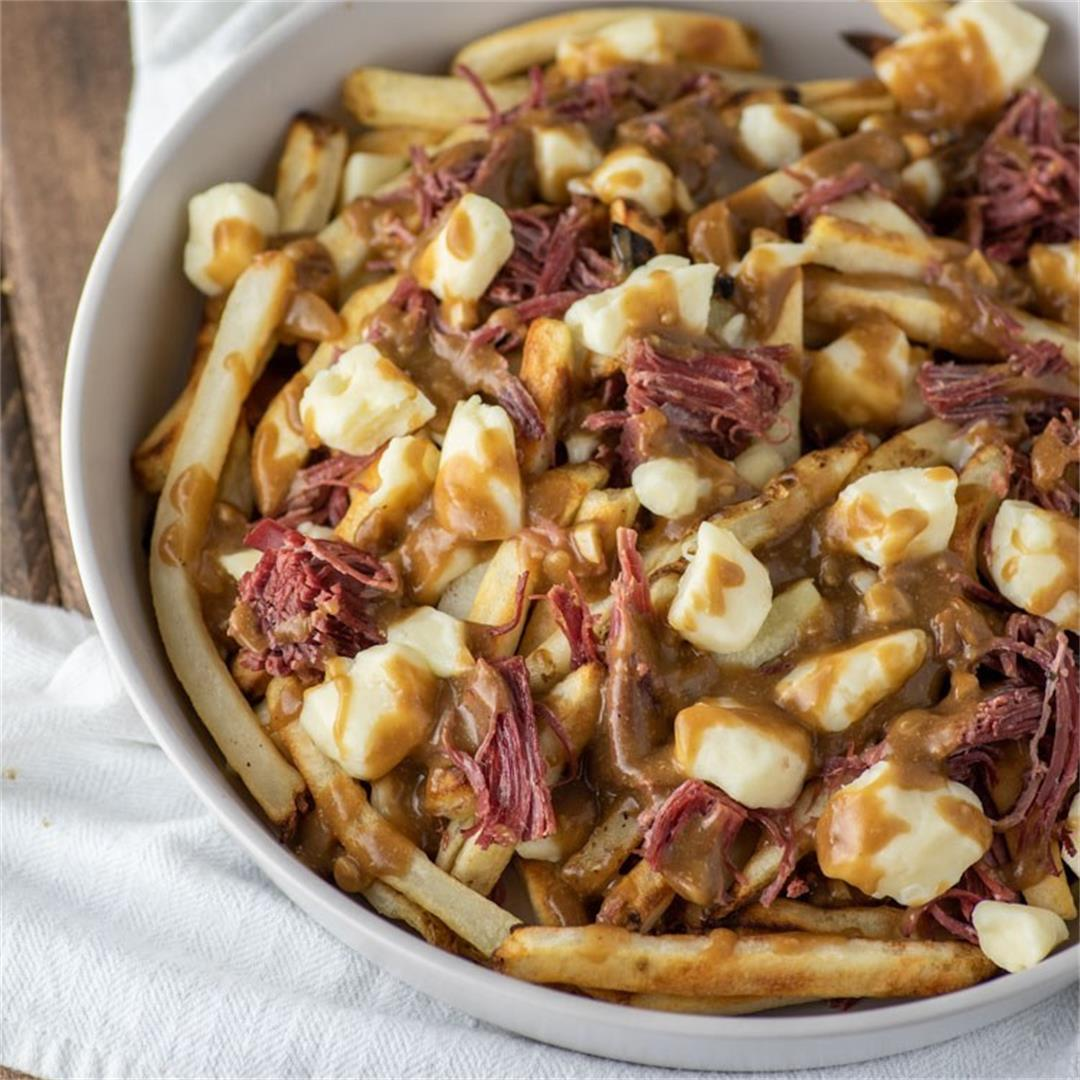 Corned Beef Poutine