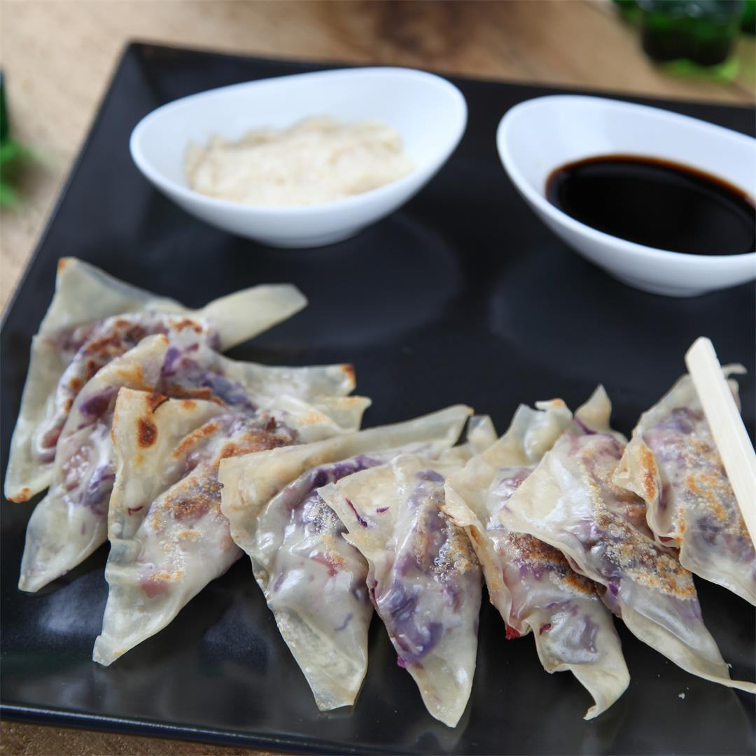 Corned Beef and Cabbage pot stickers