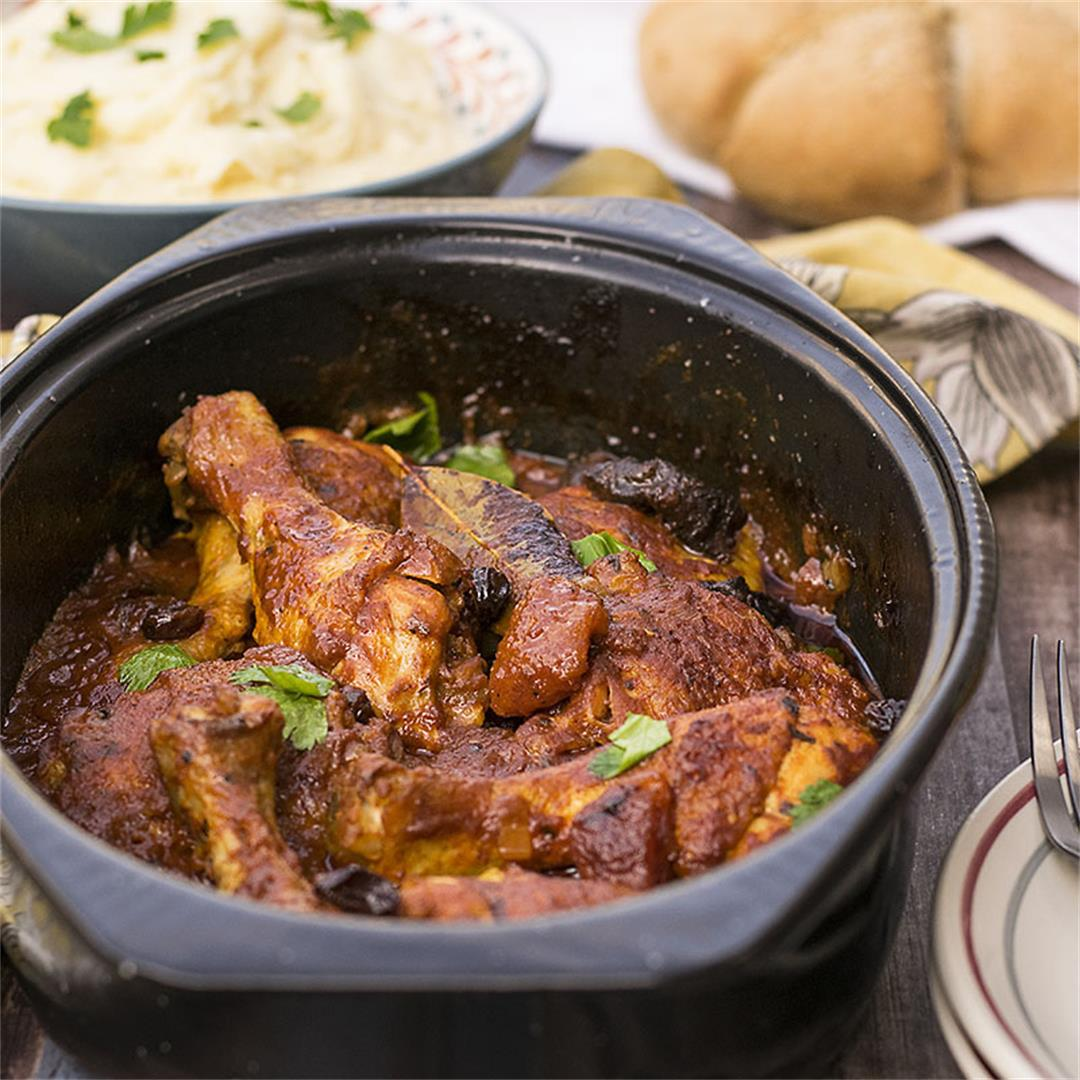 Moroccan baked chicken with 11 spices