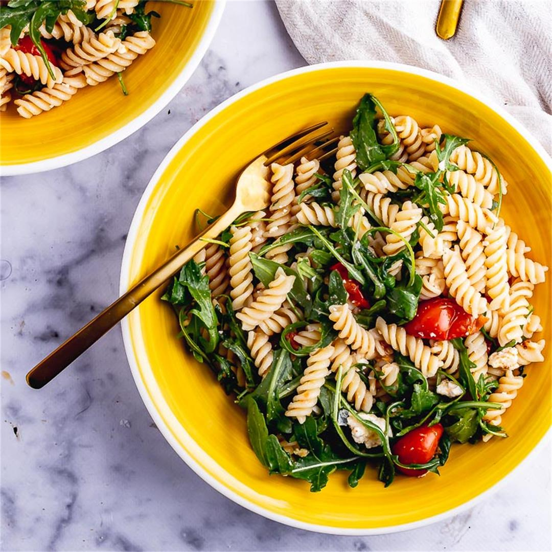 Easy Roasted Tomato Pasta Salad
