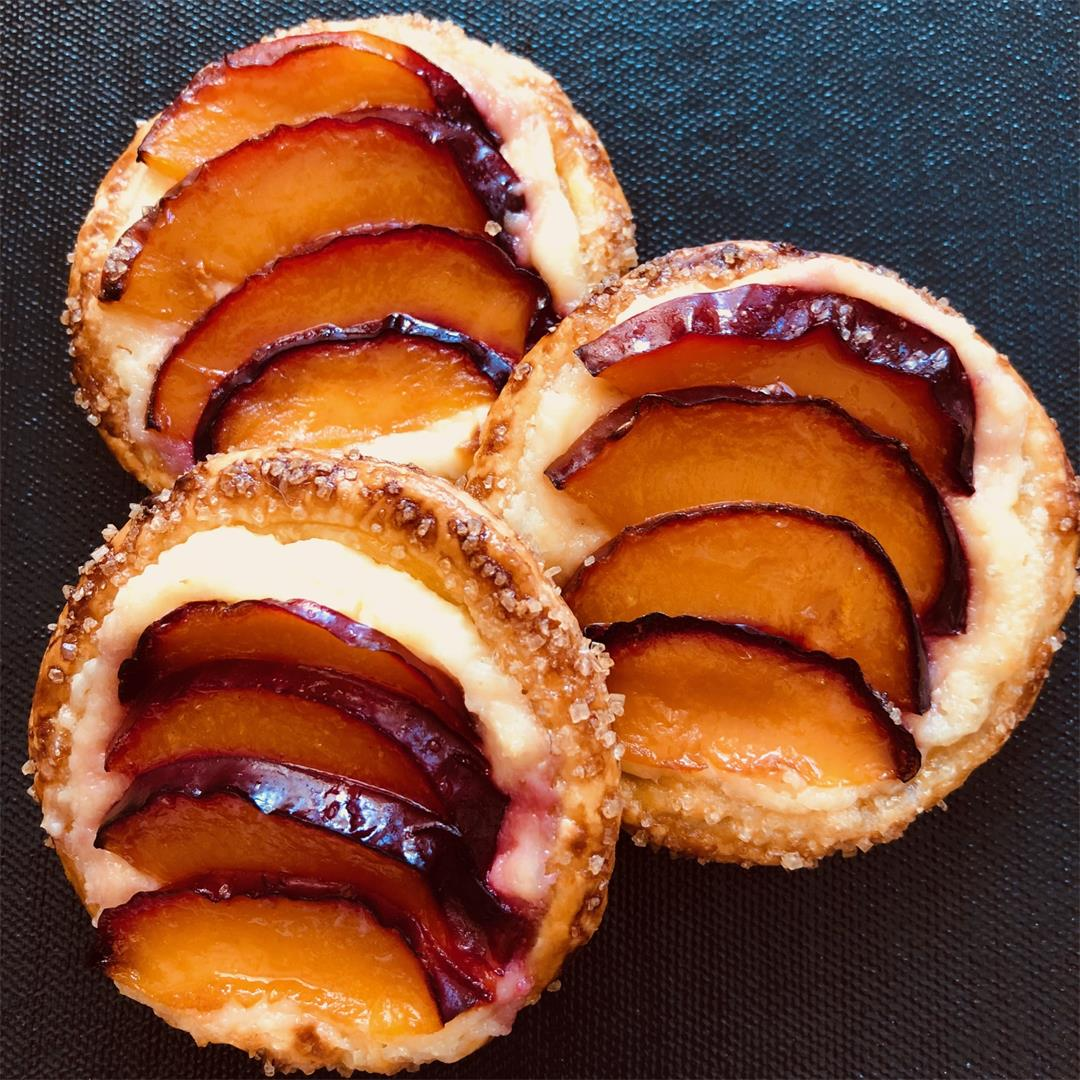 Mini Plum Tartlets