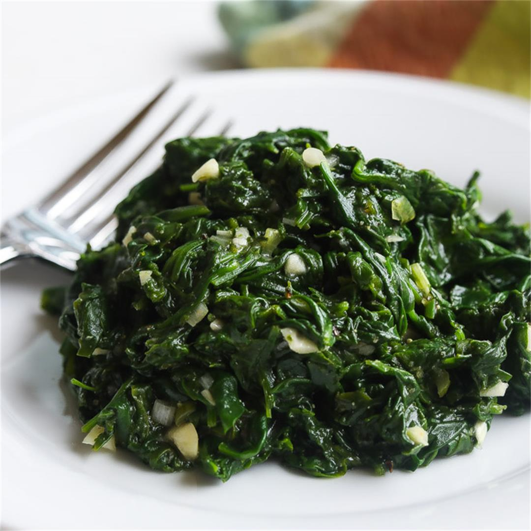 Quick and Easy Spinach