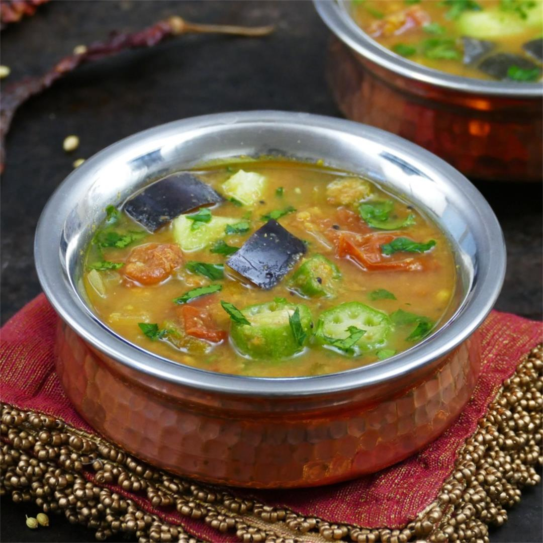 Instant Pot South Indian Sambar