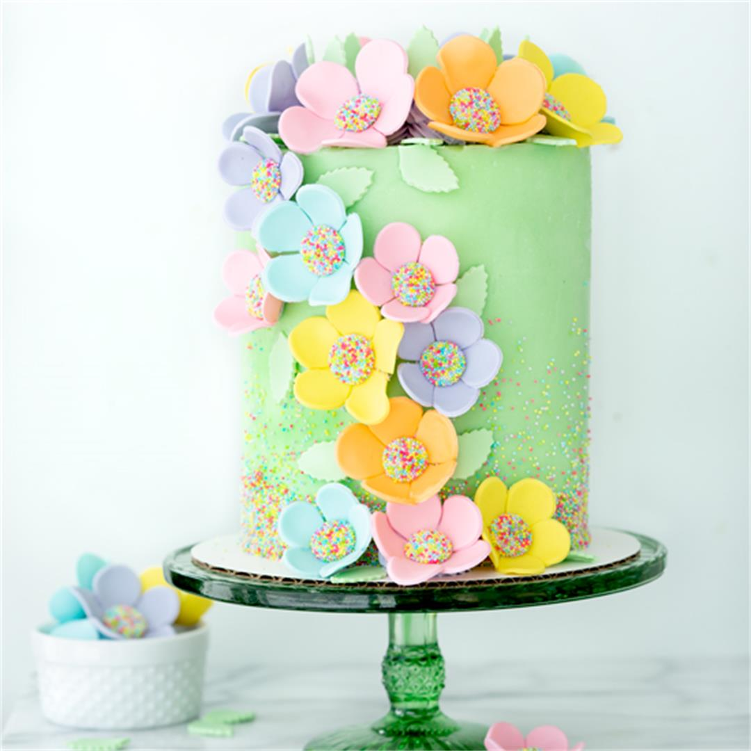 Spring Inspired Gumpaste Flowers Tutorial