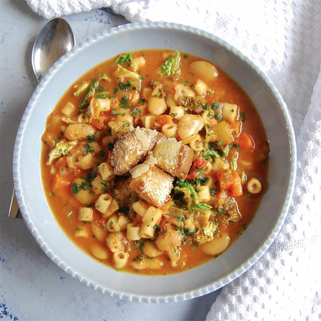 Instant Pot Minestrone Soup