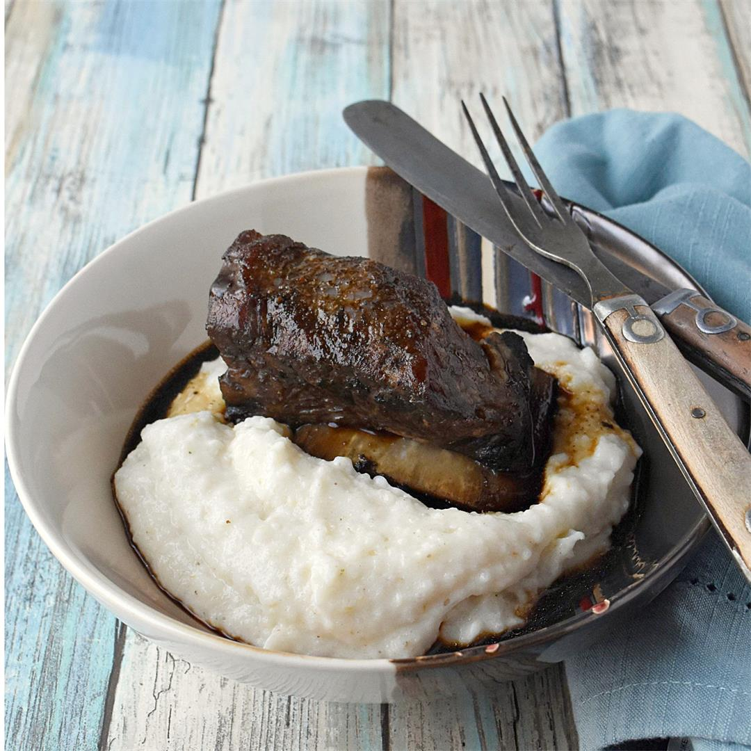 Coffee Braised Short Ribs