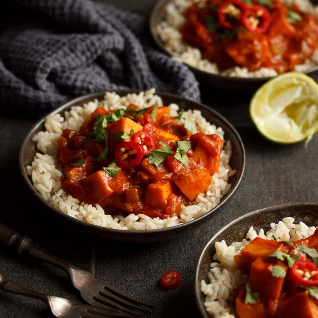 One Pot Sweet Potato Curry