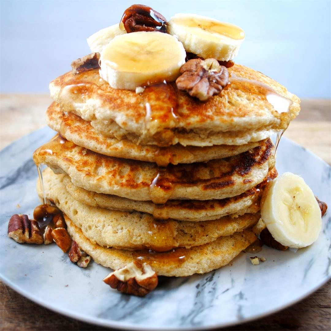 One of the fluffiest gluten free pancakes you will ever try!