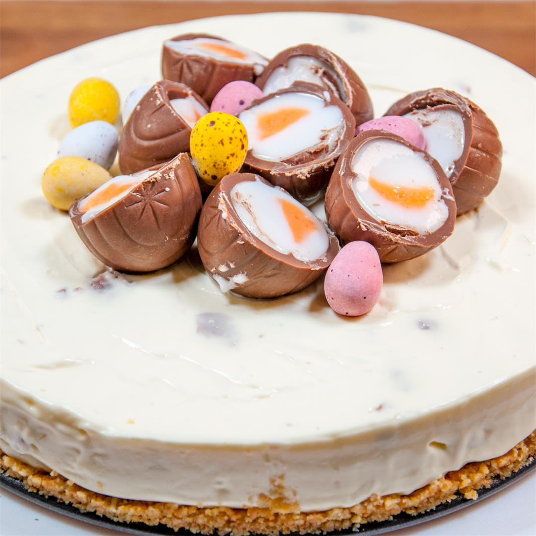 Cream Egg Cheesecake