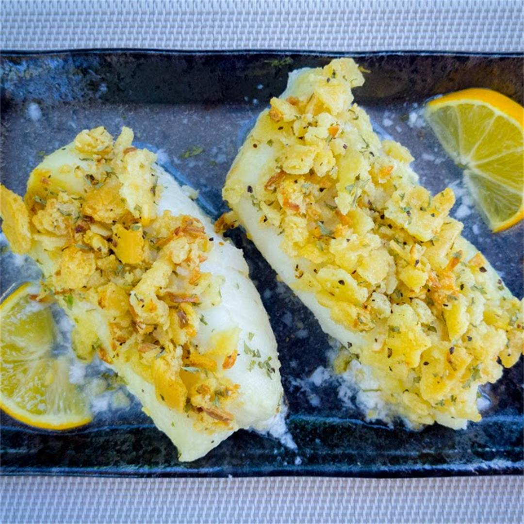 Cracker Crusted Cod Filet