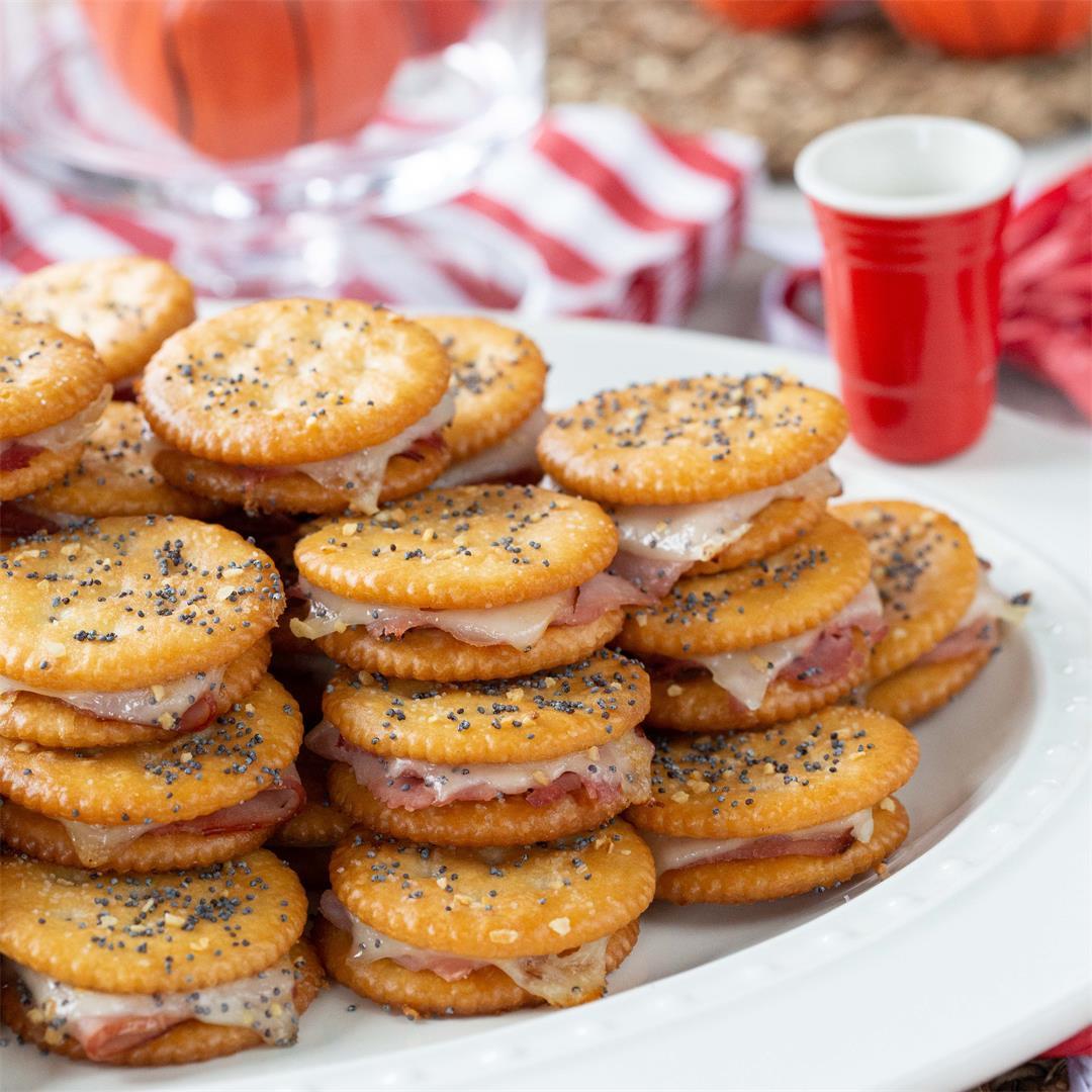 Ritz Crackers Mini Party Sandwiches