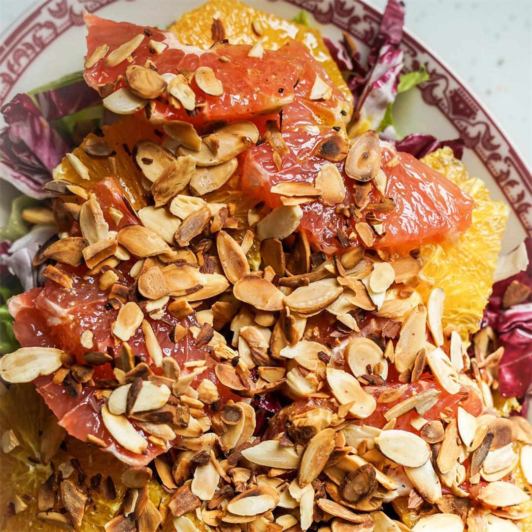 Spring Equinox Salad with Radicchio and Citrus