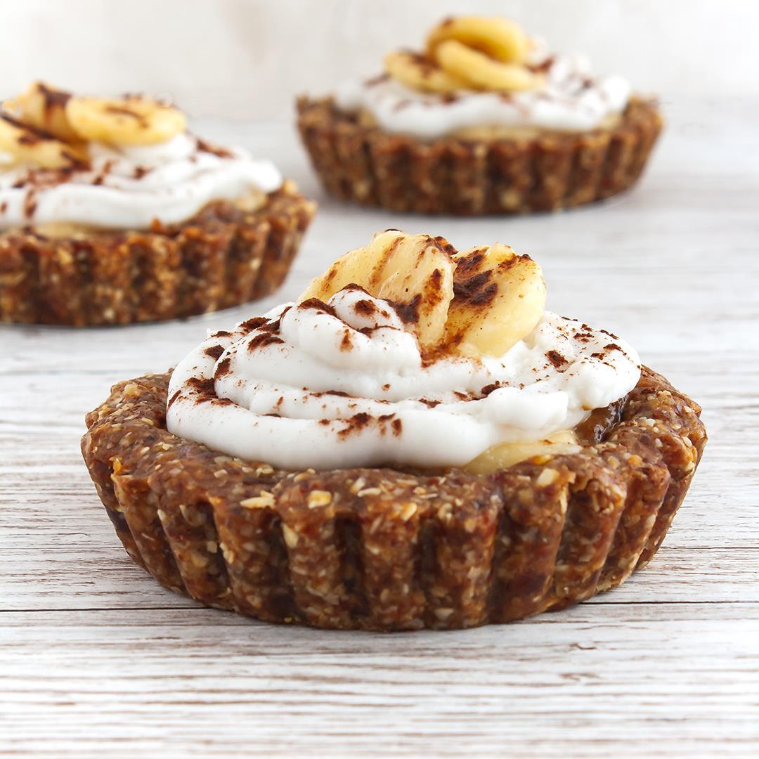 Gluten and Dairy Free Banoffee Pie