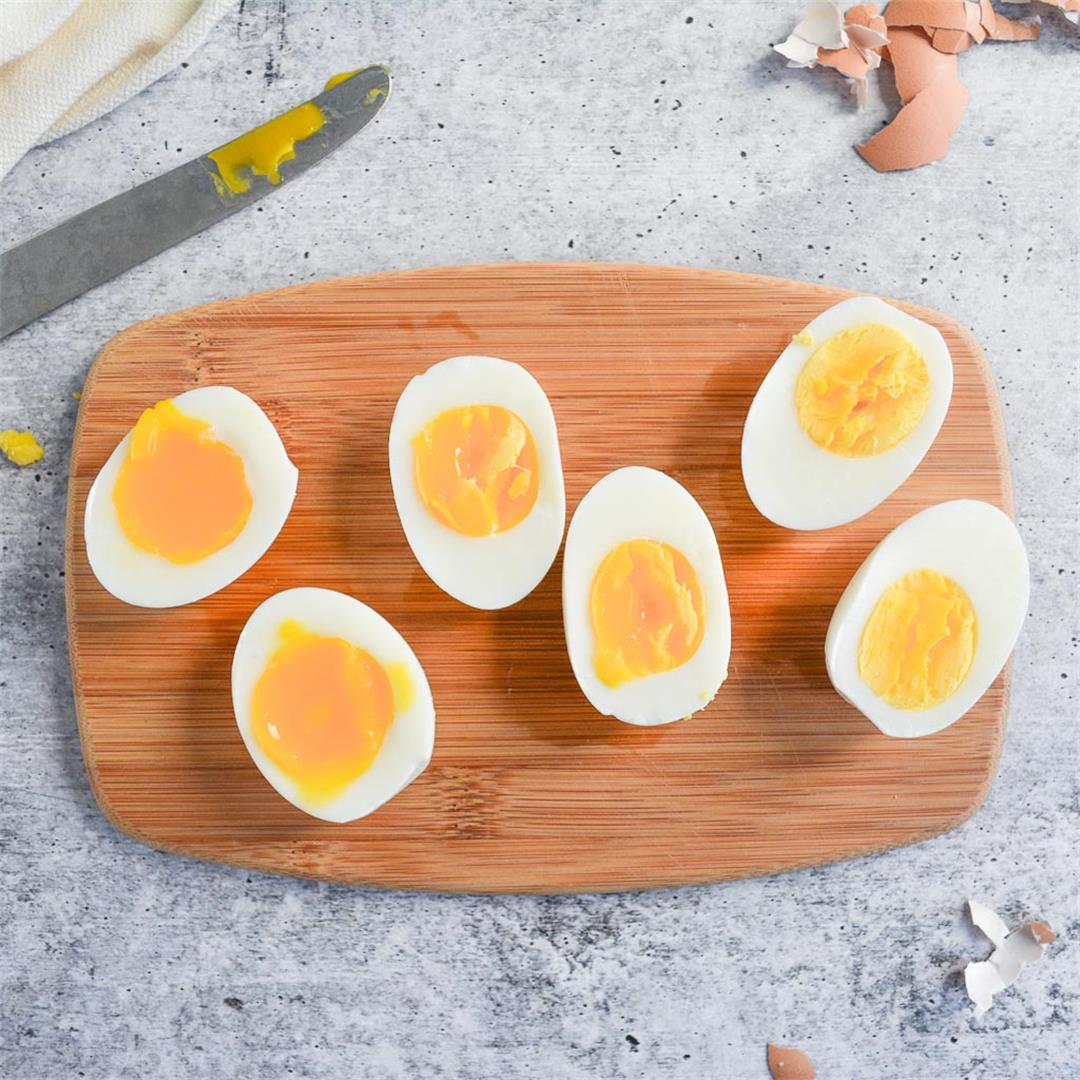 Perfect Hard & Soft Boiled Eggs