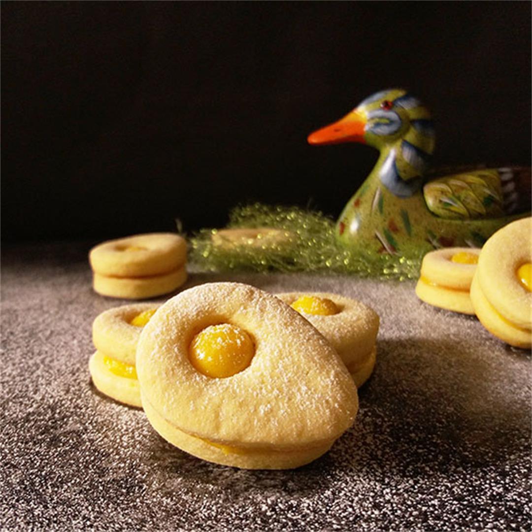Lemony Sandwich Cookies