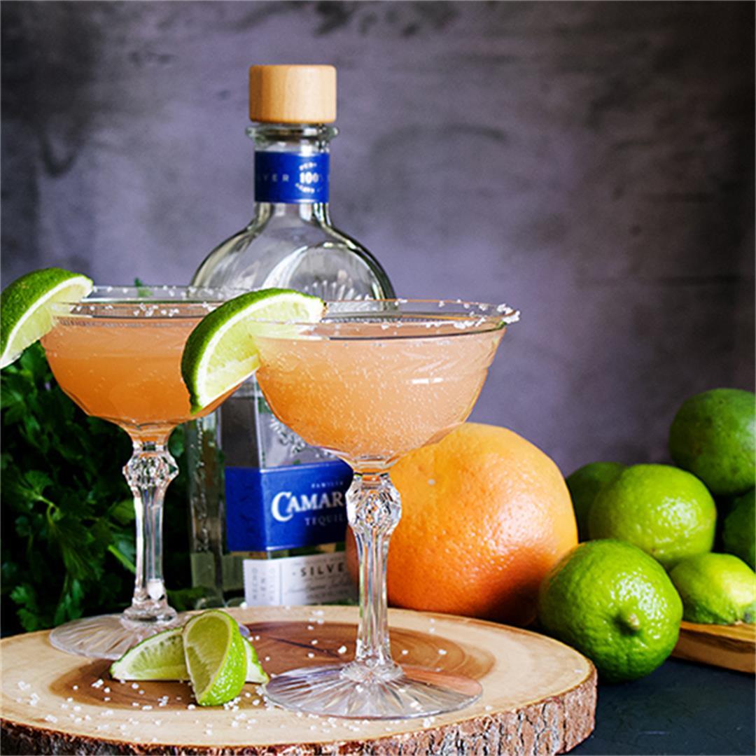 Perfect Grapefruit Margaritas