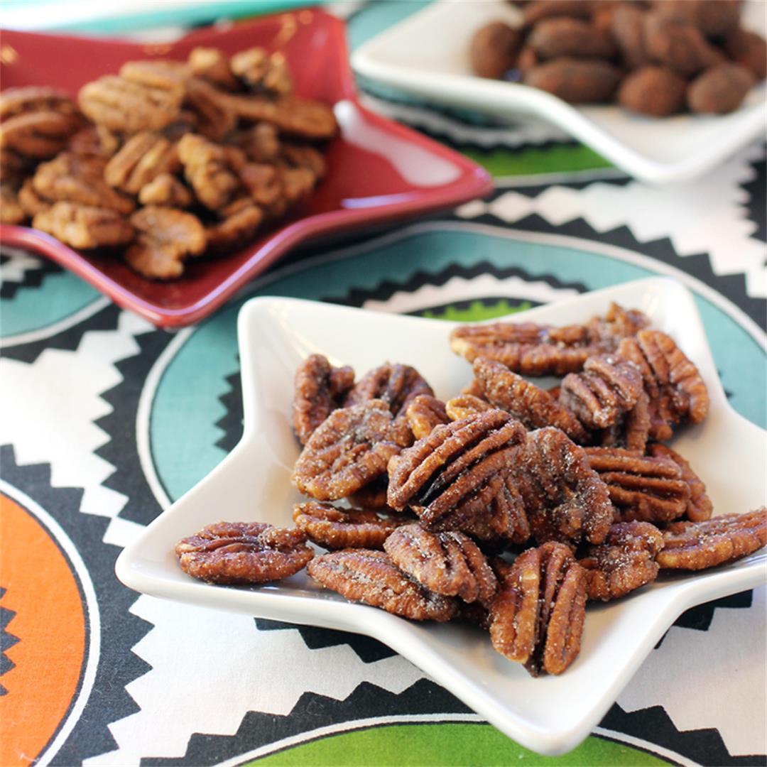 Sante Nuts Bourbon Pecans