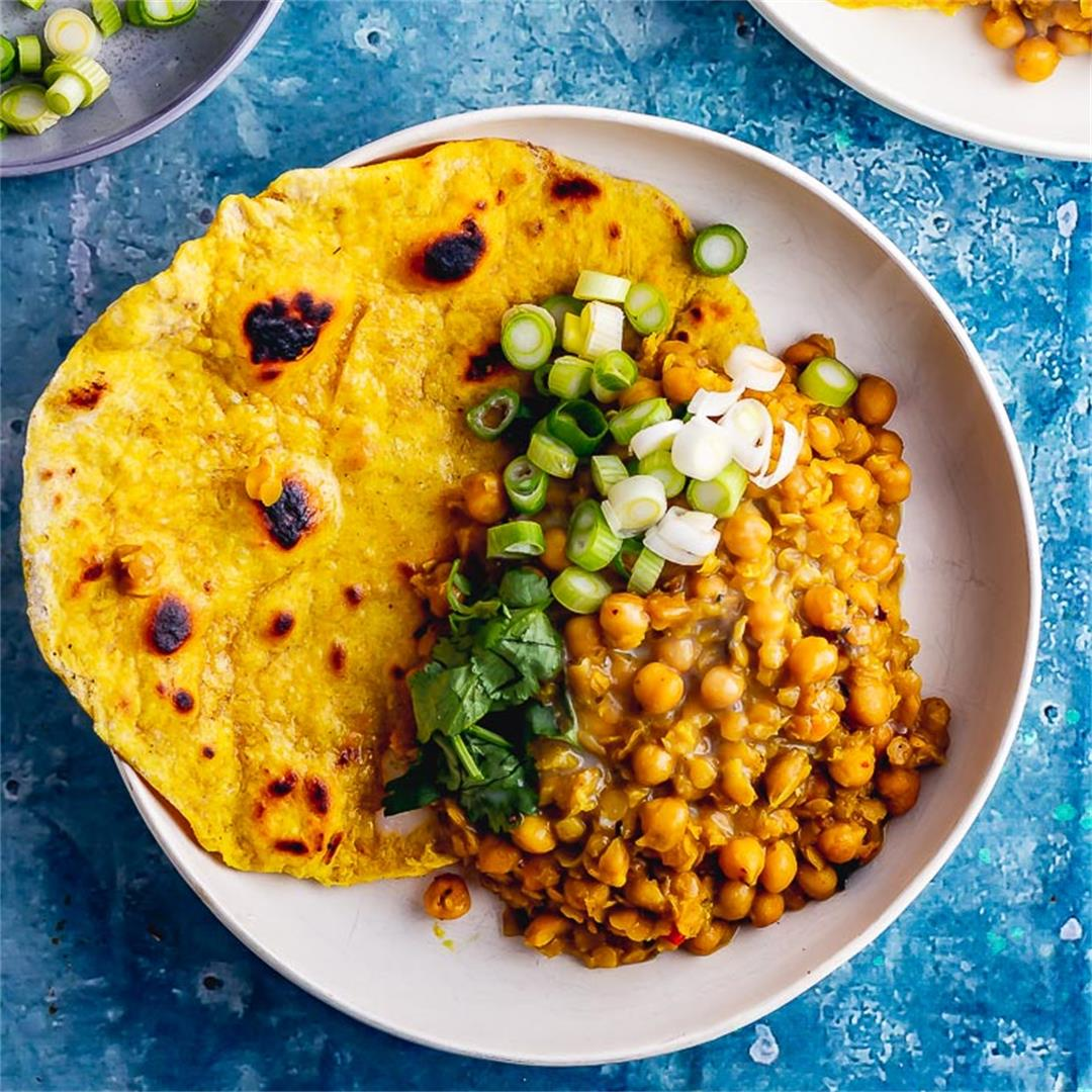 Chickpea Curry with Coconut Milk