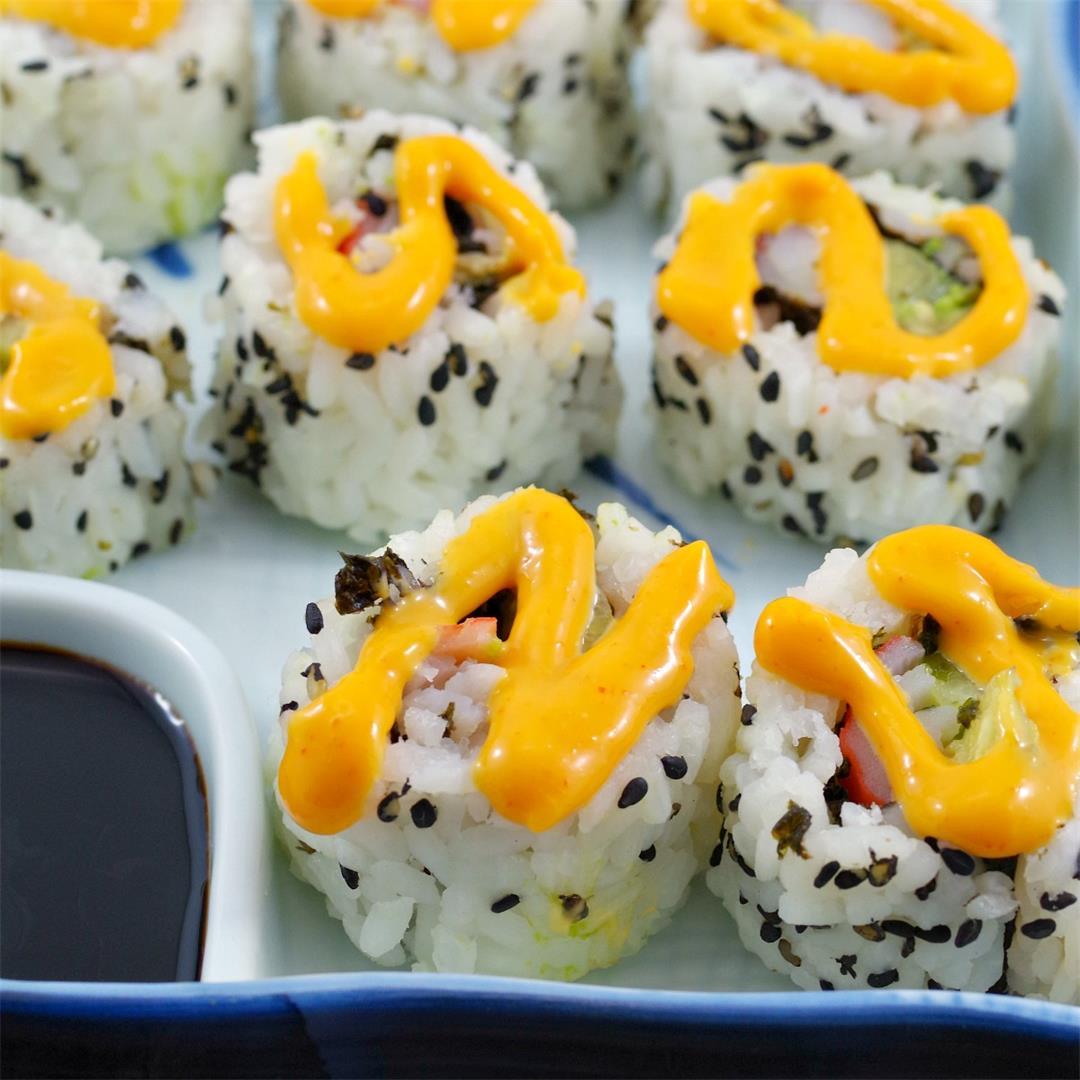 Homemade California Rolls (Sushi)