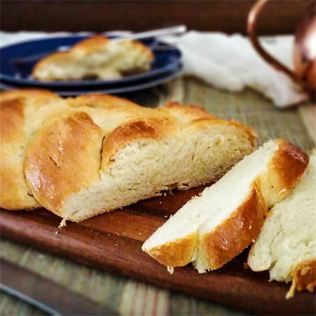 Tsoureki - Greek Sweet Bread