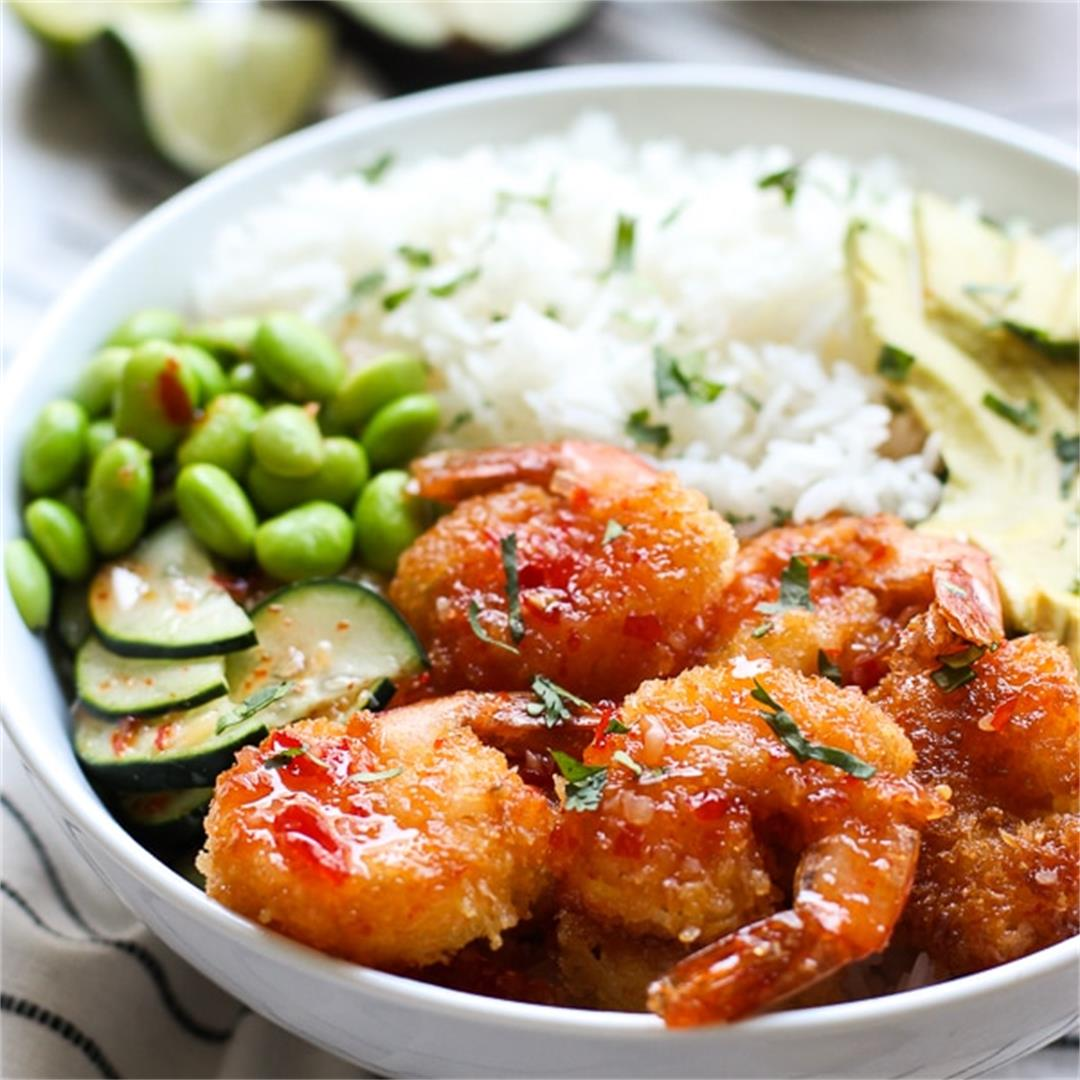 Crispy Shrimp Bowl