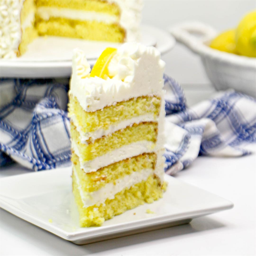Mile High Lemon Cake