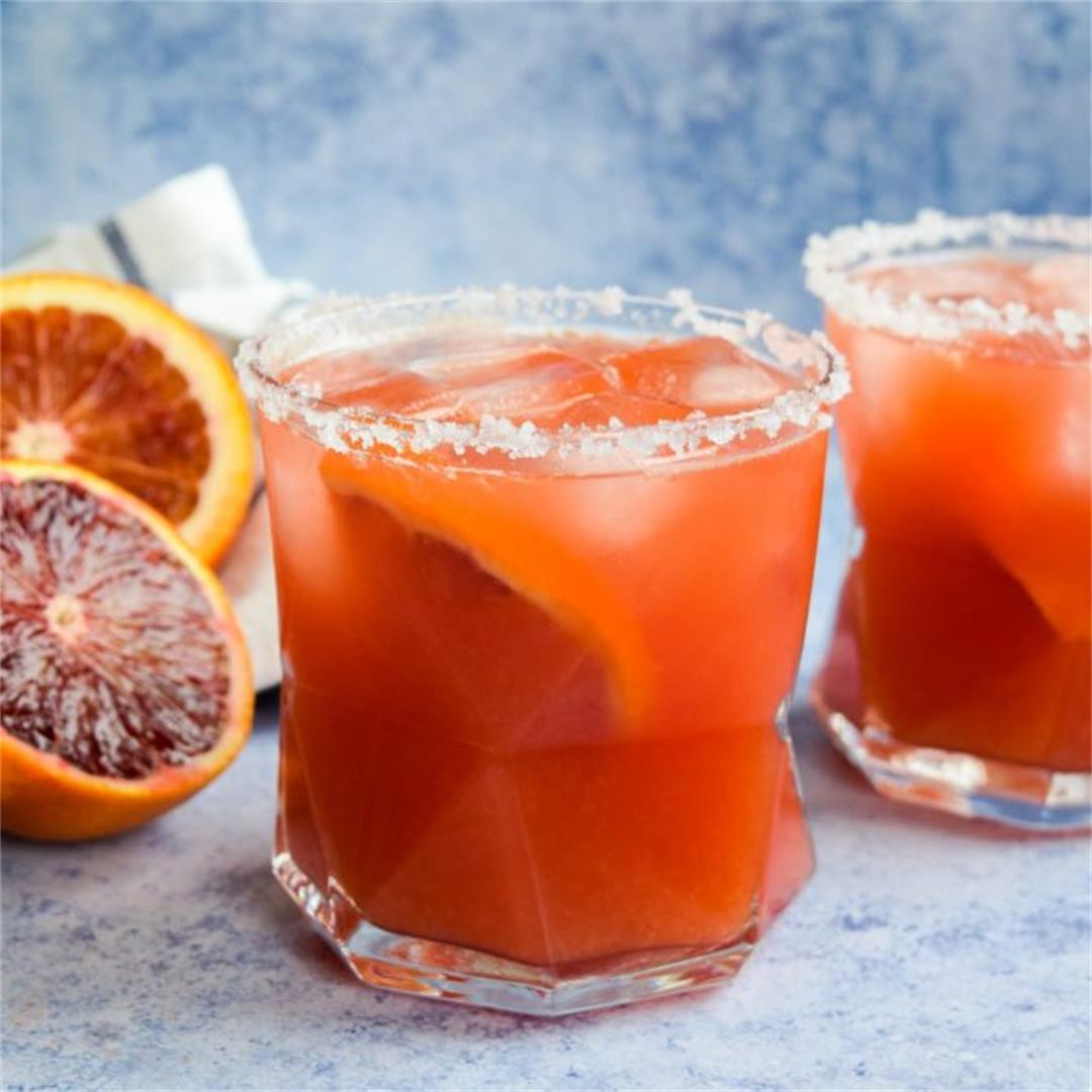 Recipe: Blood Orange Margaritas