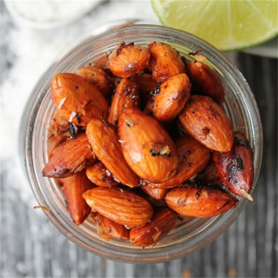 Coconut & Lime Roasted Almonds