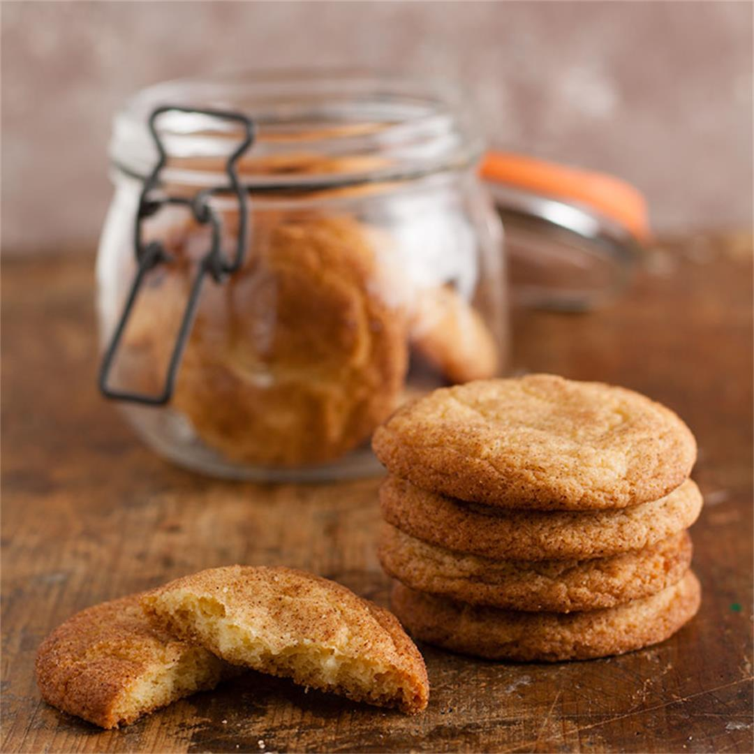 Snickerdoodles and cookie book giveaway